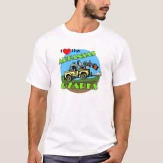 I Love the Arkansas Ozarks t-shirt