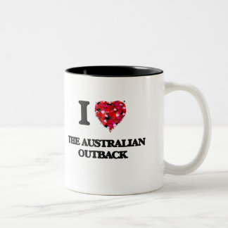 I love The Australian Outback Two-Tone Coffee Mug