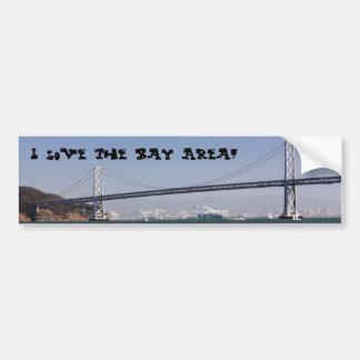 I love the Bay Area! Bumper Sticker