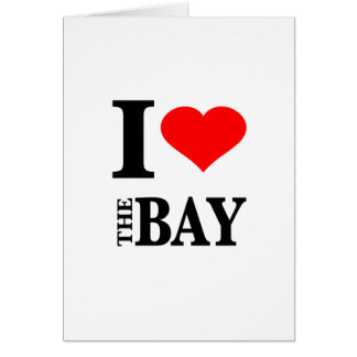I Love The Bay Area Greeting Card