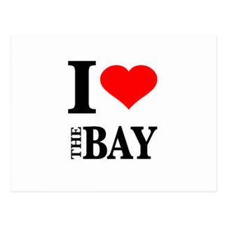 I Love The Bay Area Postcards
