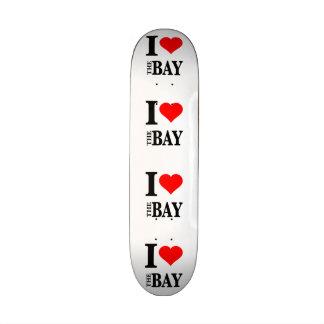 I Love The Bay Area Skate Board Deck