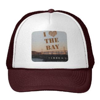 I Love The Bay Trucker Hats