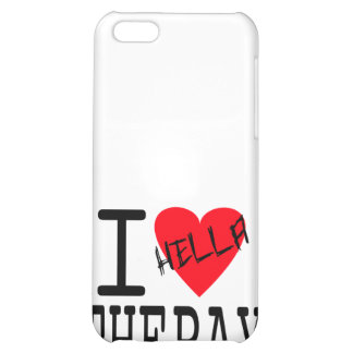 I Love The Bay iPhone 4 Case (white)