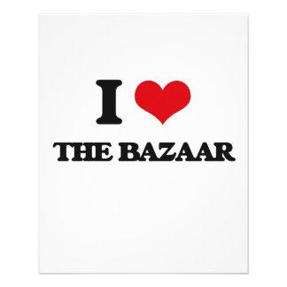"""I Love The Bazaar 4.5"""" X 5.6"""" Flyer"""