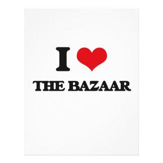 """I Love The Bazaar 8.5"""" X 11"""" Flyer"""