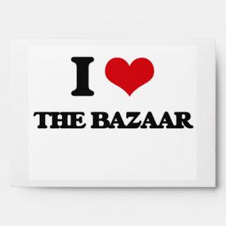 I Love The Bazaar Envelopes