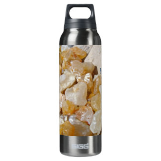I Love the Beach! Agates Rocks 16 Oz Insulated SIGG Thermos Water Bottle