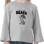 I Love the Beach Blond Girl Tshirts and Gifts