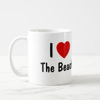 I Love The beach Coffee Mug