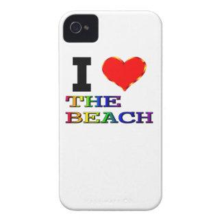 I Love The Beach iPhone 4 Case