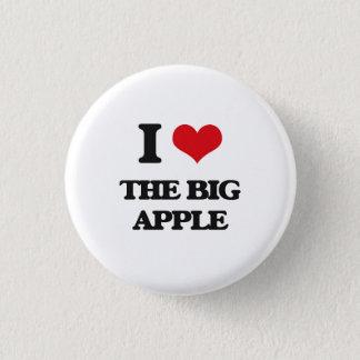 I Love The Big Apple Pinback Button