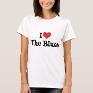 I Love The Blues T-Shirt