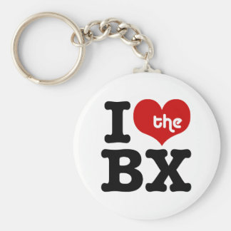 I Love The Bronx Keychain
