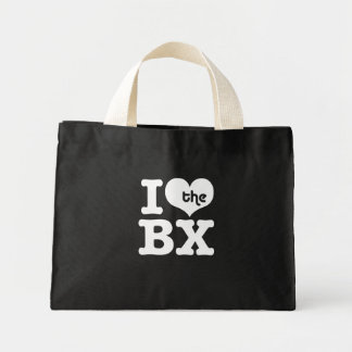I Love The Bronx Mini Tote Bag