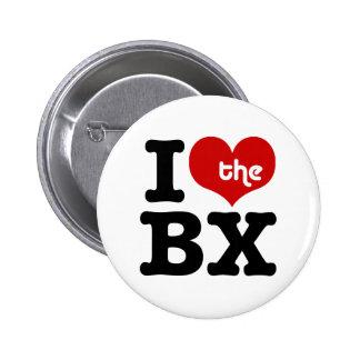I Love The Bronx Pinback Button