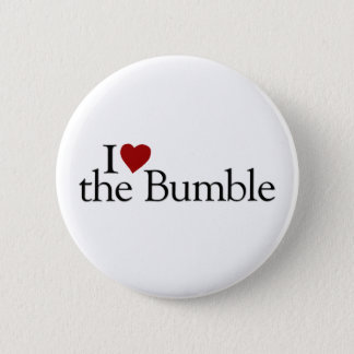 I Love The Bumble Pinback Button