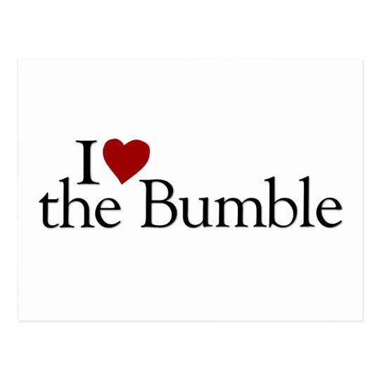 I Love The Bumble Postcard