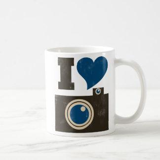 I Love the Camera Classic White Coffee Mug