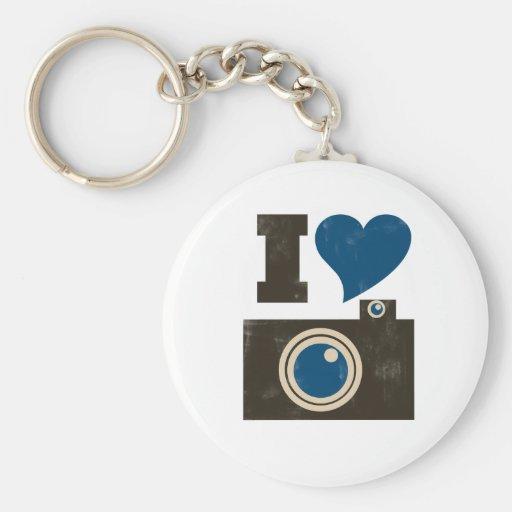 I Love the Camera Key Chain