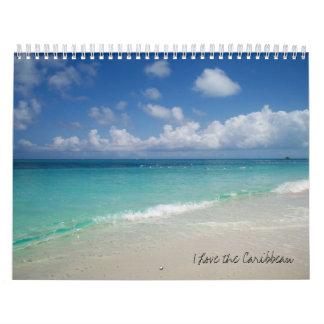 I Love the Caribbean Calendar