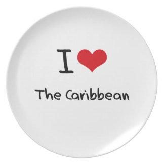 I love The Caribbean Dinner Plate