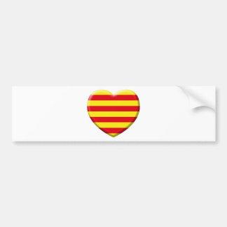 I love the Catalans Bumper Stickers