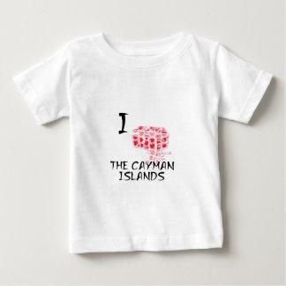 I Love The Cayman Islands Baby T-Shirt