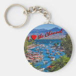 I Love the Channel Keychain