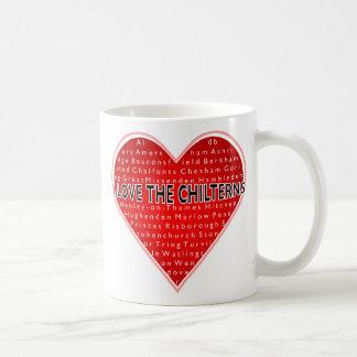 I Love the Chilterns Coffee Mug