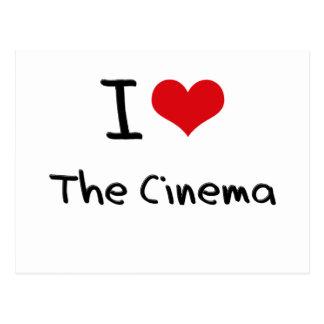 I love The Cinema Postcard