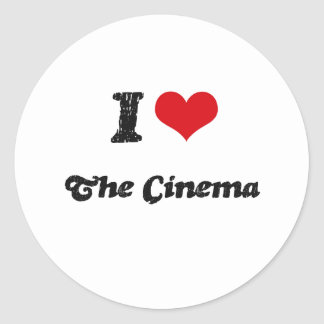 I love The Cinema Sticker