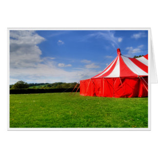 I love the circus. card