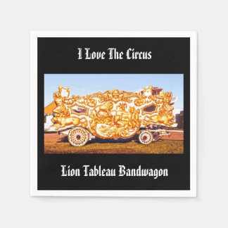 I Love The Circus! Lion Tableau Bandwagon Napkins