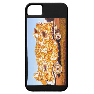 I Love the Circus! Lion Tableau Wagon iphone Case