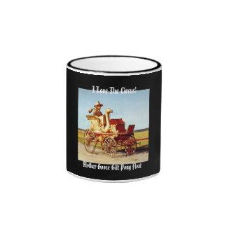 I Love The Circus! Mother Goose Pony Float Mug