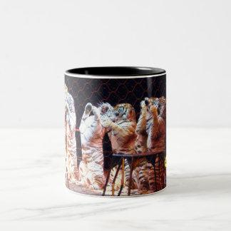 I LOVE THE CIRCUS TIGERS mug
