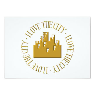 I love the city card