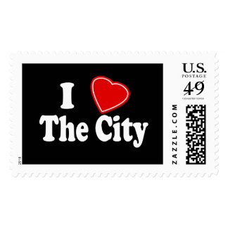 I Love The City Stamps