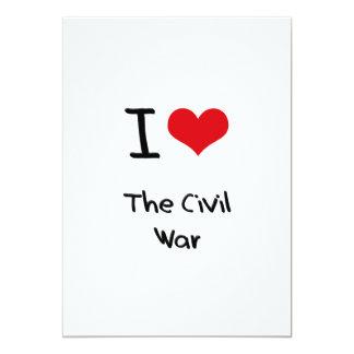 I love The Civil War 5x7 Paper Invitation Card