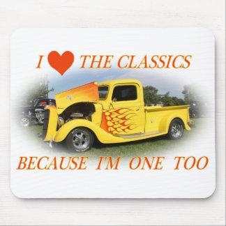 I Love The Classics Mouse Pad