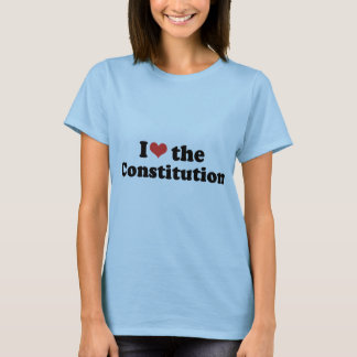 I LOVE THE CONSTITUTION - .png T-Shirt