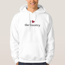 I Love the Country Hoodie