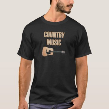 USA Themed I love the country music T-Shirt
