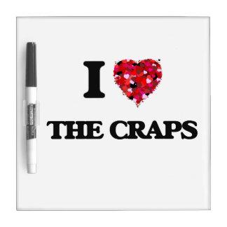 I love The Craps Dry-Erase Whiteboard