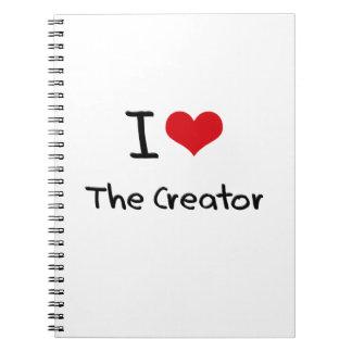 I love The Creator Spiral Note Book