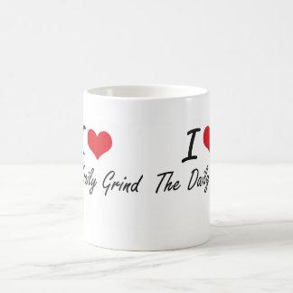 I love The Daily Grind Classic White Coffee Mug