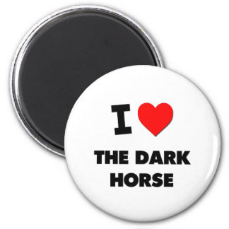 I Love The Dark Horse 2 Inch Round Magnet