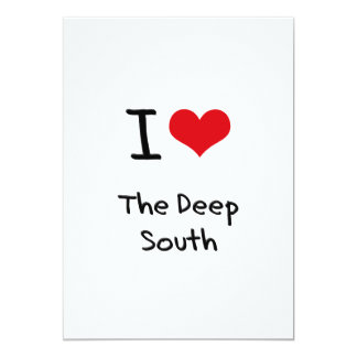 I Love The Deep South Announcement
