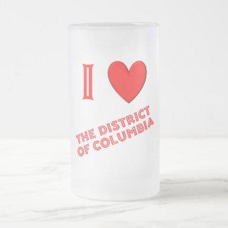 I Love the District of Columbia Mug